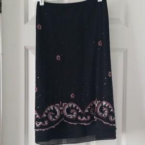 Dana Buchman beaded skirt